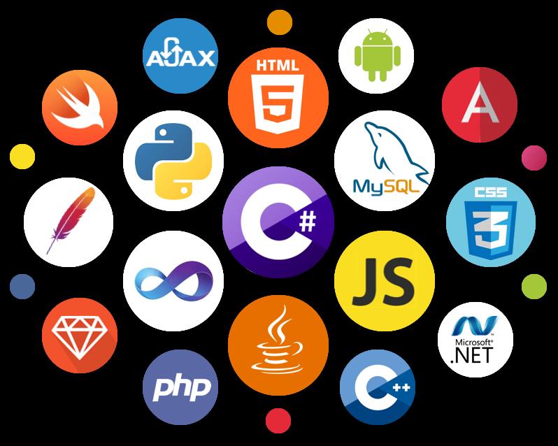 استخدامات اشهر لغات البرمجة