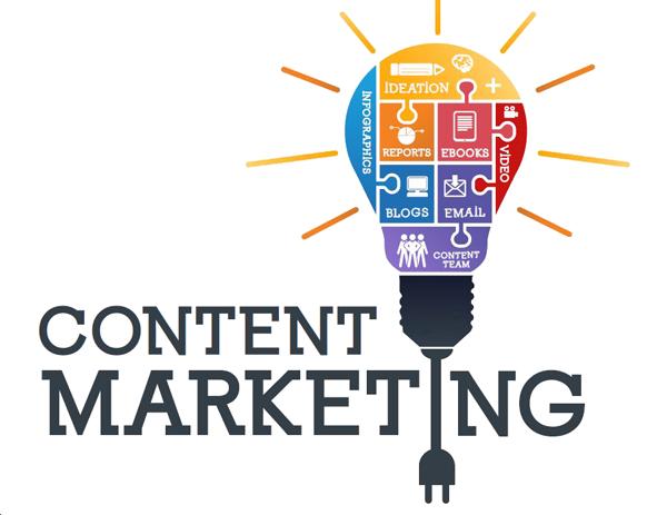 التسويق بالمحتوى , انواع التسويق الالكتروني