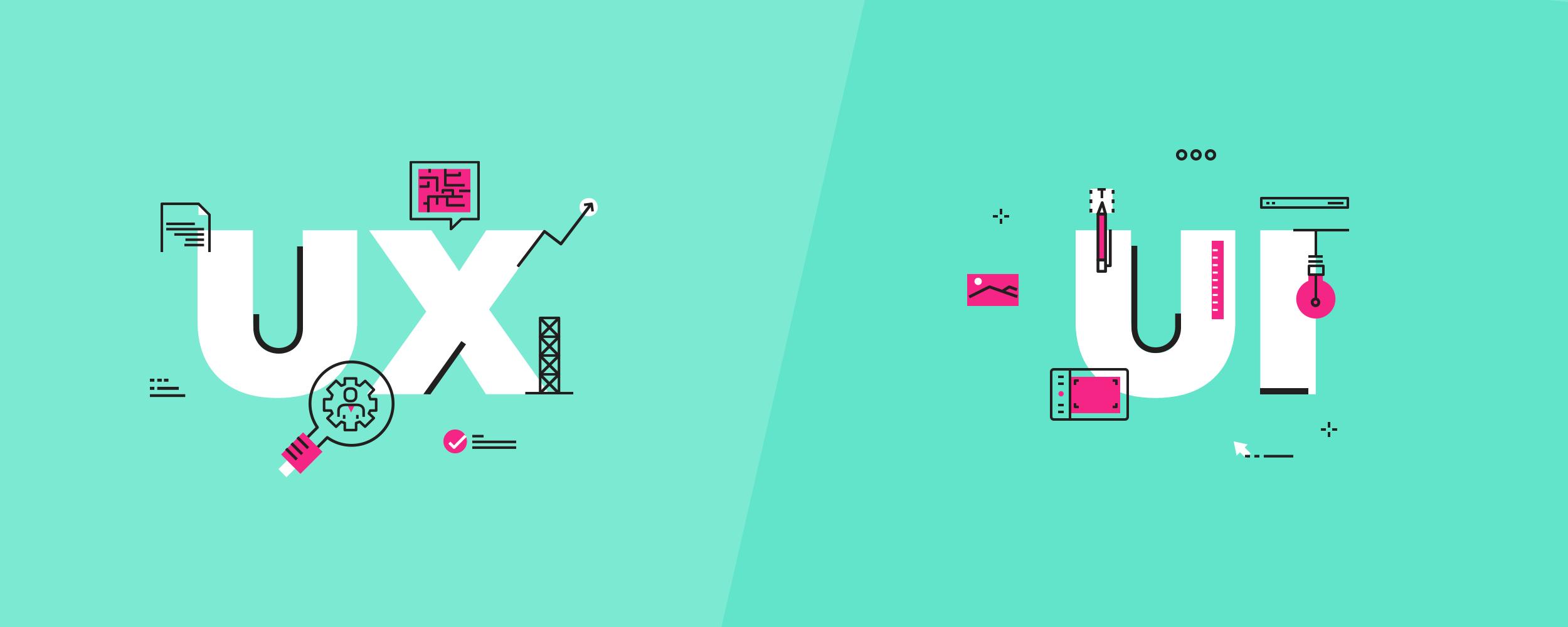 الفرق بين واجهات المستخدم UI وتجارب المستخدم UX 