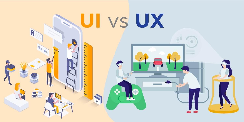الفرق بين UX و UI