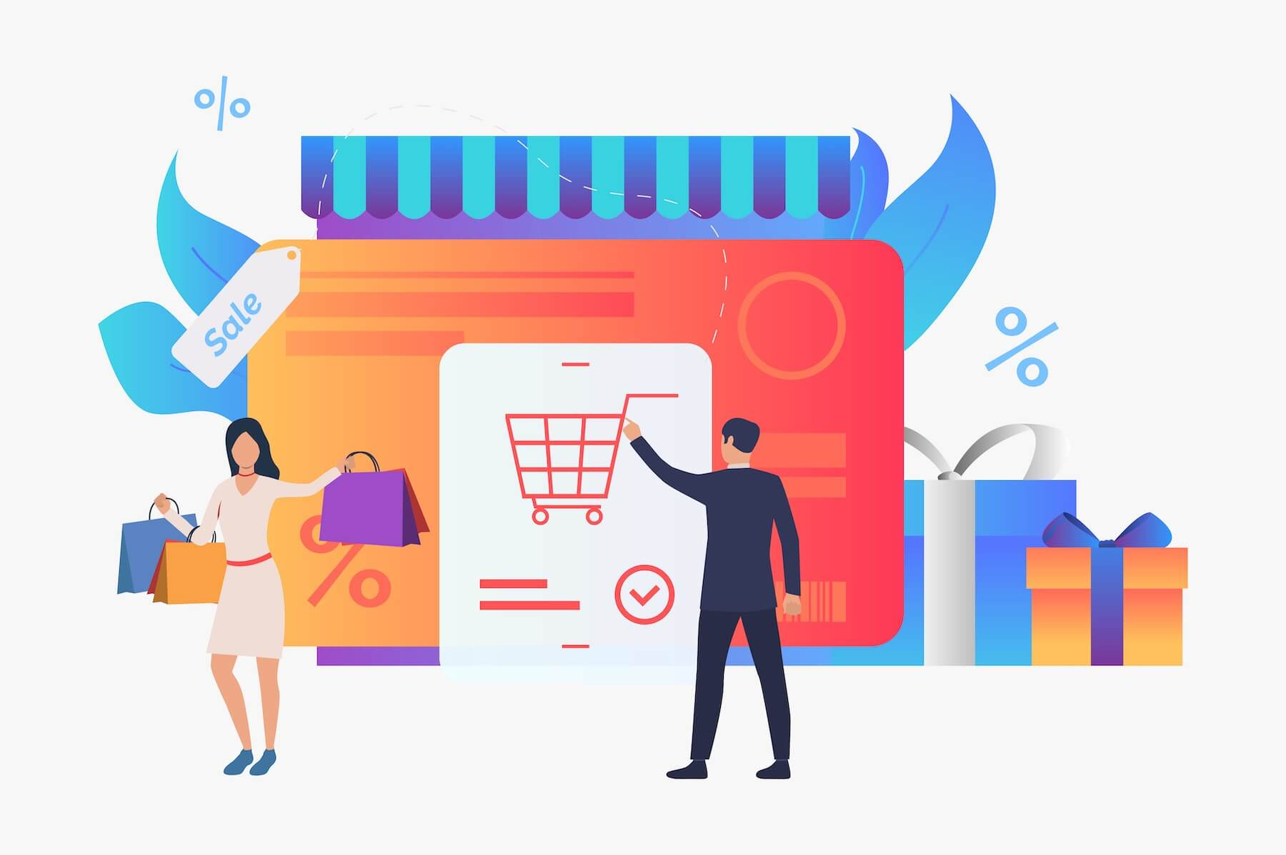 What are E-commerce Stores